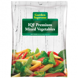 Garden Supreme IQF Premium Mixed Vegetables