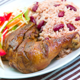 Jerk Chicken with Rice