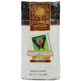 Copper Moon Guatemalan Coffee Light Roast Ground 12-Ounce Bags (Pack of 3)