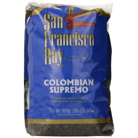 San Francisco Bay Coffee Whole Bean Colombian Supremo 32 Ounce
