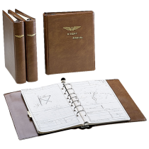 Thin Line Binder (for Jeppesen Approach Charts 1 in. Rings)