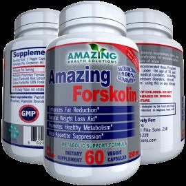 AMAZING FORSKOLIN-Premium Coleus Forskohlii Root Extract-250mg-20%