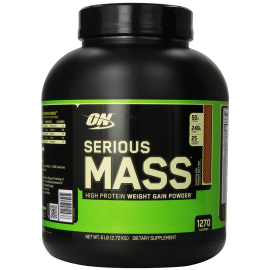 Optimum Nutrition Serious Mass Diet Supplement Chocolate Peanut Butter 6 Pound