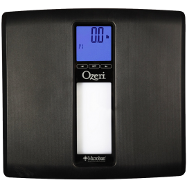 Ozeri ZB20 WeightMaster II 440 lbs Digital Bath Scale with BMI and Weight Change Detection Black