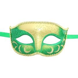 Burlesque-Boutique Sparkle Venetian Mardi Gras Multi Color Halloween Costume mask