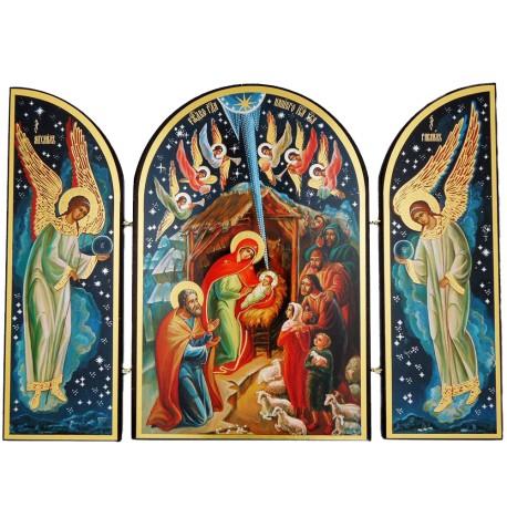 Nativity Scene Triptych