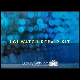 Watch Repair Kit with Reusable Aluminum Box