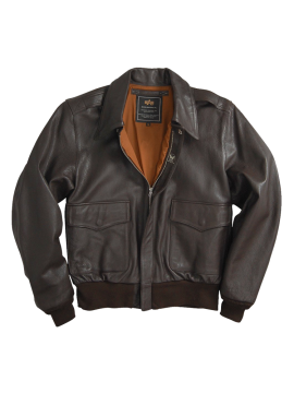 Alpha Industries A-2 Leather Jacket