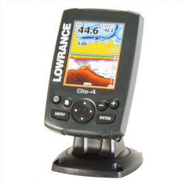 Lowrance Elite-4 Chartplotter_Fishfinder Combo With Color Display