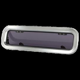 Boat rectangular opening portlight