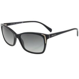 Prada 02os 1ab3m1 Black 02OS Wayfarer Sunglasses