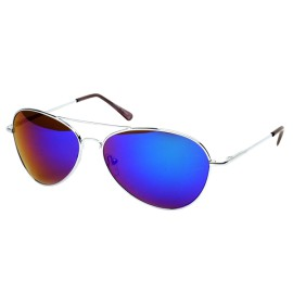 FRAMEWORK - Classic Color Full Mirrored Aviator Sunglasses