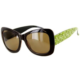 Hippie Chic Polarized(Anti-Glare) Kids Wayfarer Sunglasses Protect Eyes