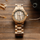 Wooden Wrist Watches Quartz