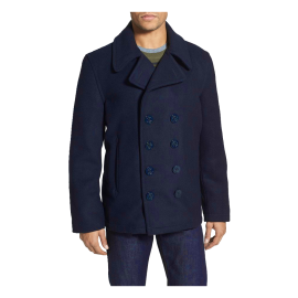 Dugan' Wool Blend Peacoat