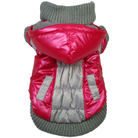Aspen Vintage Dog Ski Coat with Removable Hood