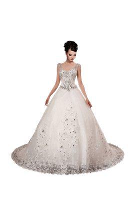 Layered Wedding Dress