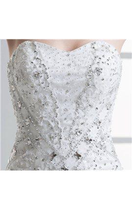 Rhinestone Wedding Dress