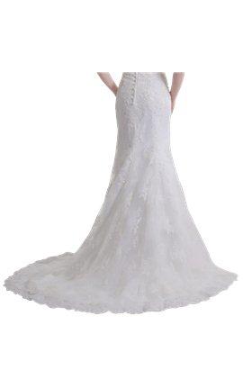Luxury vintage wedding dress