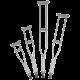 C500U Universal, Aluminum Underarm Crutches