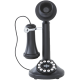 Crosley CR64-BK Candlestick Phone with Push Button Technology (Black)