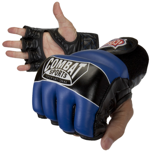 Combat Sports, Leather, Hybrid, MMA Gloves