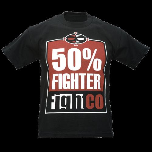 FightCo 50% Fighter Kids MMA T-Shirt