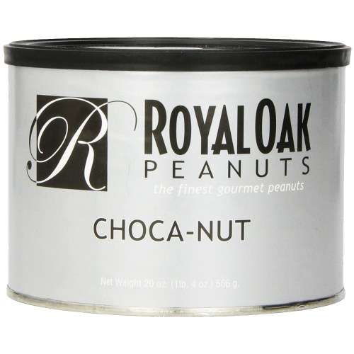 Royal Oak Gourmet Chocolate Covered Peanuts 20 Ounce Tin