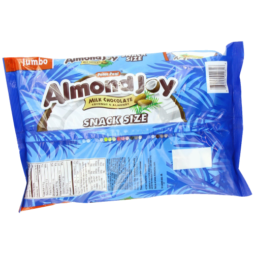 Almond Joy Snack Size Bars 20.1 Ounce Jumbo Bag