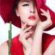 Organic Green Tea Volumizing Mascara and Black Eyeliner