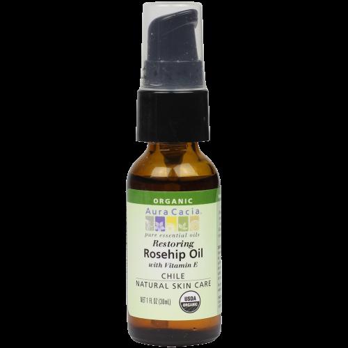 Restoring Rosehip Oil with Vitamin E
