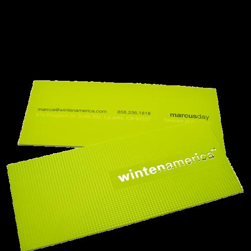 Winten America business card design