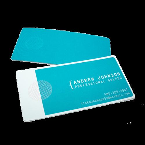 Andrew Johnson business card design