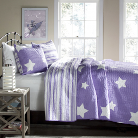 Lush Decor Star 3-piece Quilt Set