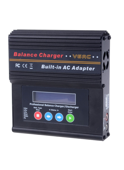 Neewer® LCD AC 100~240V Smart Balance Charger Discharger Set with Power Supply for NiCd NiMH