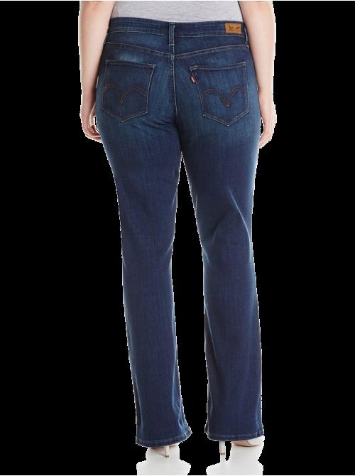 Plus-Size 512 Boot Cut Jean