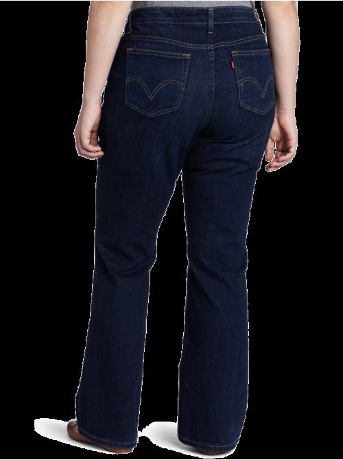 Plus-Size 590 Bootcut Jean