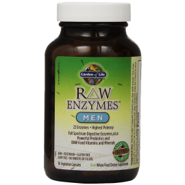 Garden of Life RAW Enzymes(TM) Men 90 Capsules 1