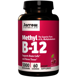 Jarrow Formulas Methylcobalamin (Methyl B12) 5000mcg 60 Lozenges 1