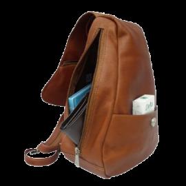 Piel Leather Flap-Over Sling Backpack Handbags 2