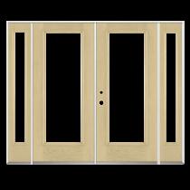 Benchmark by Therma-Tru 94-in Low-E 1-Lite Fiberglass French Inswing Patio Door_1