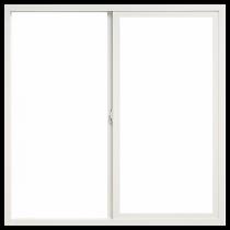 BetterBilt 72-in x 60-in 875 Series Left-Operable Aluminum Double Pane New Construction Sliding Window