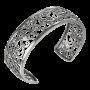Sterling Silver Filigree Cuff Bracelet_1