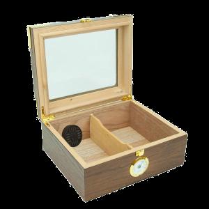 The Elegant Glass Top Cigar Humidor 2