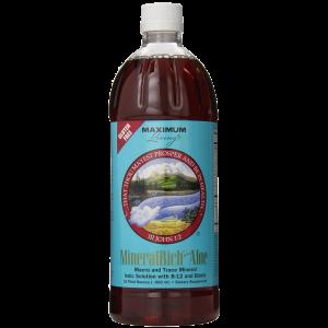 Maximum Living MineralRich Plus Aloe 32 fluid ounces 1