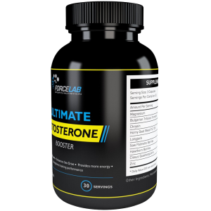 ULTIMATE TESTOSTERONE BOOSTER by FORCE LAB Sports Nutrition 6