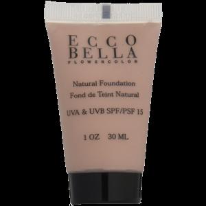 Ecco Bella FlowerColor Liquid Foundation SPF 15 Natural 1