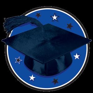 Congrats Grad Blue Graduation Cutouts 1 copy