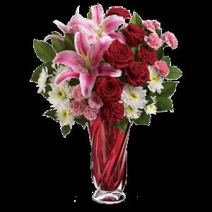 Teleflora's Swirling Beauty Bouquet 3