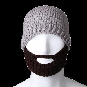 Free Fisher Unisex Knit Beanie Stubble Beard 1